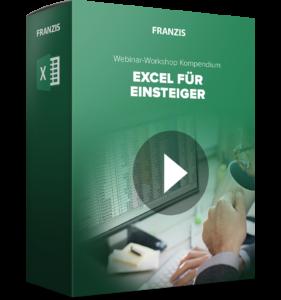 Excel Webinar Aufzeichnung